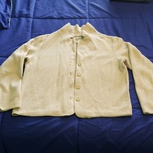 Women's LL Bean lightweight Sherpa sweater/jacket